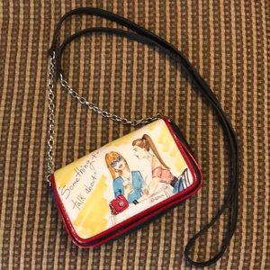 Brighton leather purse/ shoulder bag.